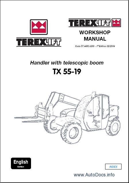 terex lift parts catalog repair manual order  u0026 download