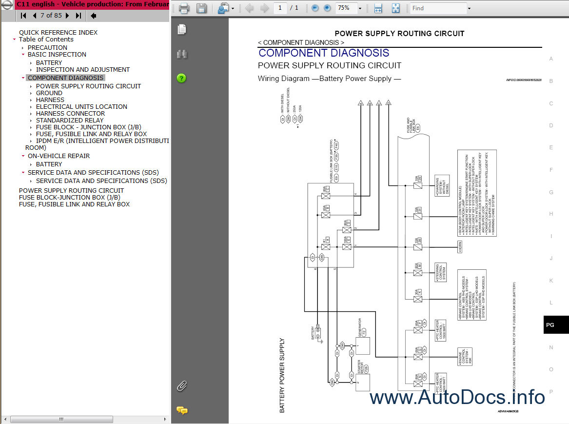 Nissan Tiida C11 Service Manual repair manual Order & Download