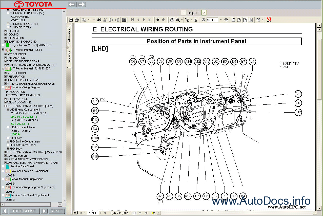 06 Tundra Wiring Diagram Custom Project Toyota Dyna 100 150 Service Manual Repair Order