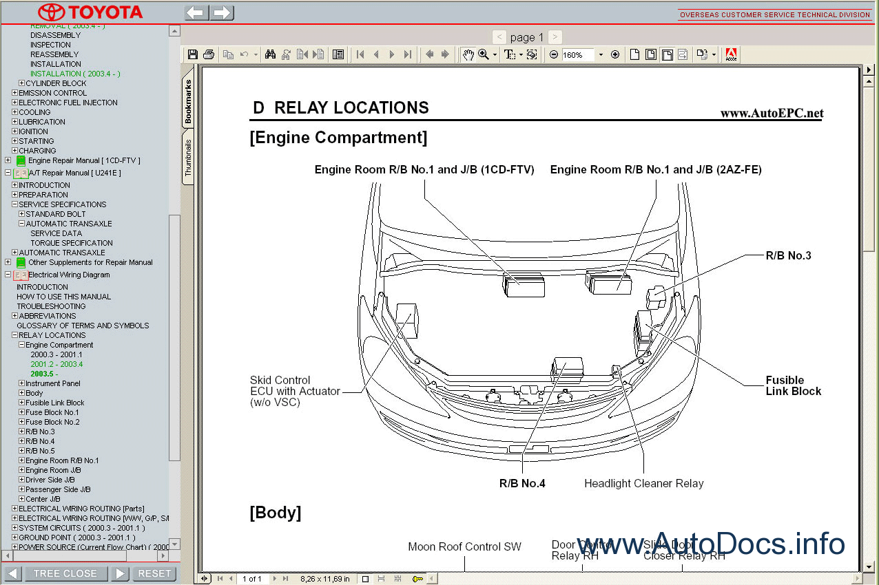 Toyota Previa    Tarago Workshop Service Repair Manual Repair Manual Order  U0026 Download