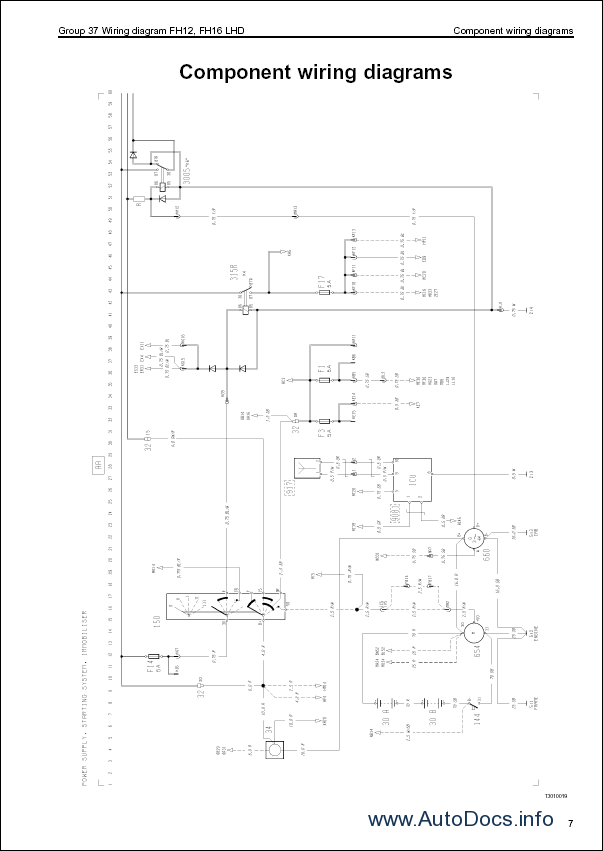 Volvo Trucks Wiring Diagrams For Fm9  Fm12  Fh12  Fh16  Nh12 Repair Manual Order  U0026 Download