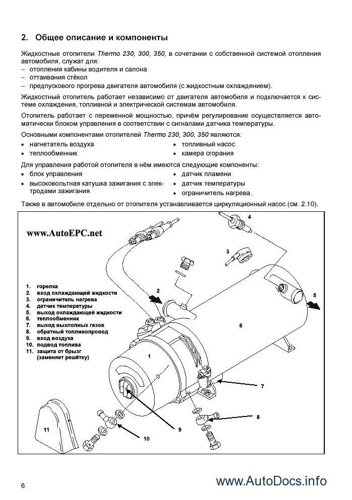 Webasto Parts Catalog Repair Manual Order  U0026 Download