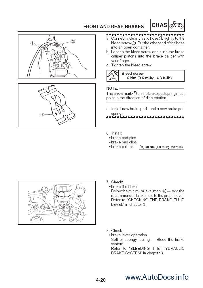 Yamaha Service Manuals Moto 2005 Repair Manual Order