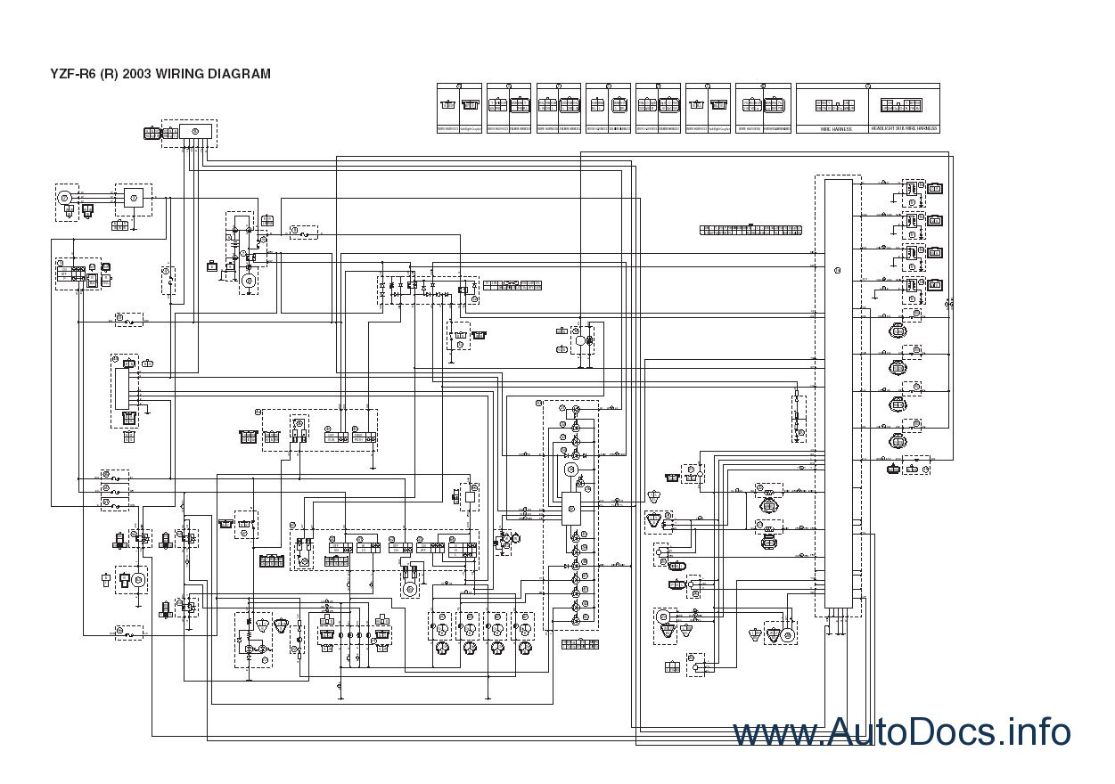 Yamaha R6 Wiring Diagram Pdf, · yamaha moto atv repair manuals 1997 2004  repair manual