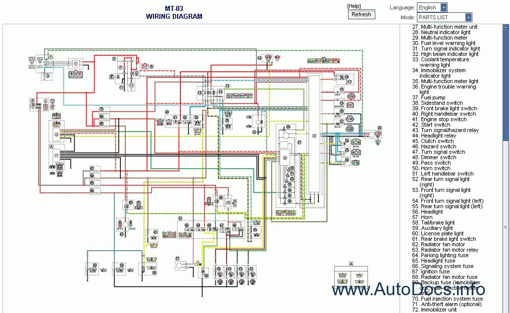 650 Yamaha Motorcycle Wiring Diagram