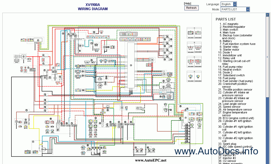 yamaha yzfr engine diagram yamaha wiring diagrams
