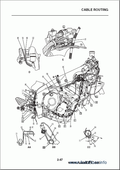 Yamaha R6 Wiring Diagram : Yamaha yzf r repair manual order