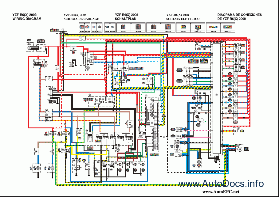 wiring schematic for 2004 r1 yamaha yzf-r6 2008 repair manual repair manual order ... #7