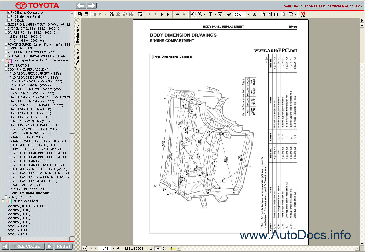 Toyota Yaris Verso Echo 1999 2005 Service Manual repair