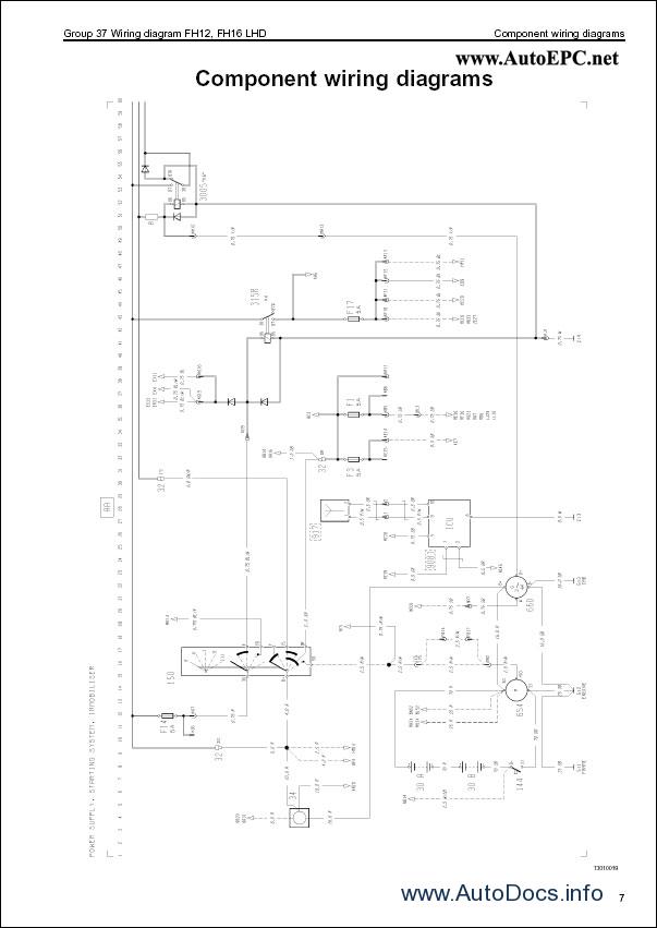 Volvo Fm  Fh  Nh12 Wiring Diagram Repair Manual Order  U0026 Download