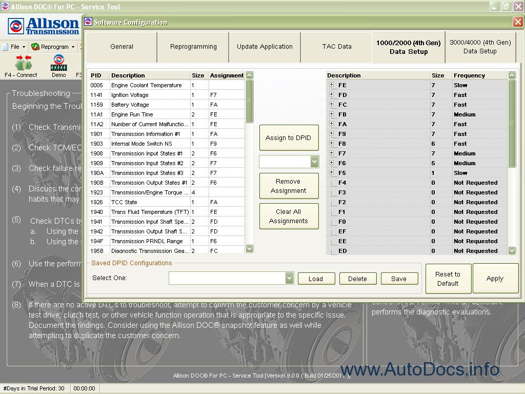 Allison Transmission 9 2 diagnostic Order & Download