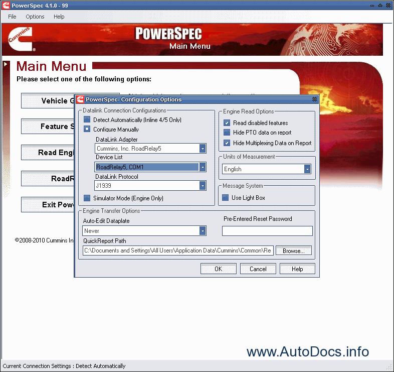 Cummins PowerSpec 4.2.4 Diagnostic Order & Download