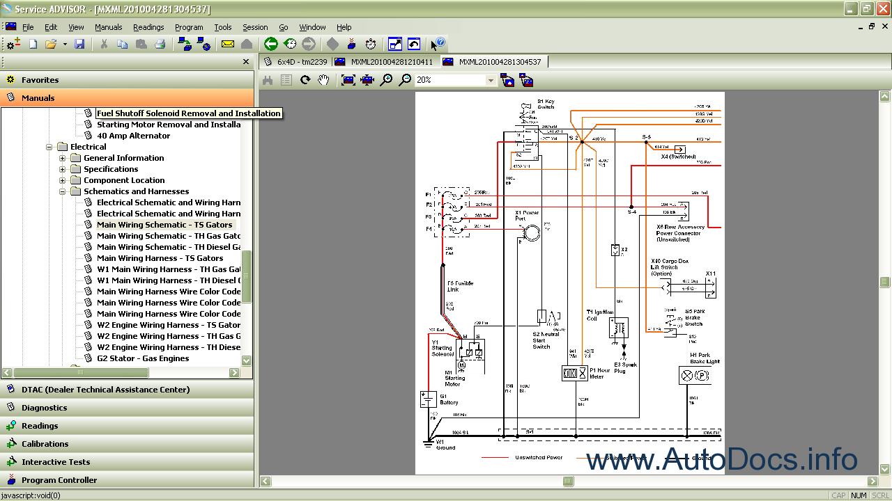 720 deere starter wiring diagram 720 wiring diagram