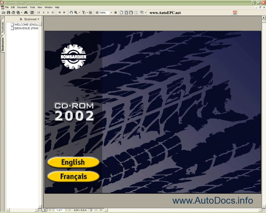 Bombardier Atv 2002 Parts Catalog Repair Manual Order border=