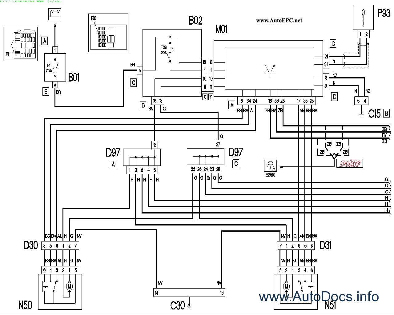 fiat doblo radio wiring diagram fiat doblo cargo wiring diagram fiat doblo & doblo cargo repair manual order & download