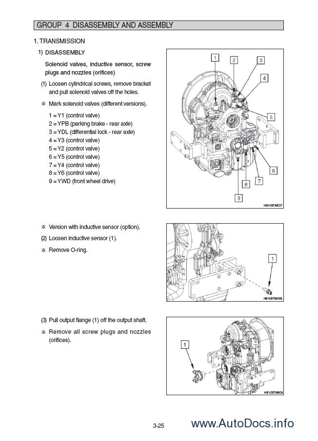 Hyundai Hb90  Hb100 Backhoe Loader Service Manual Repair