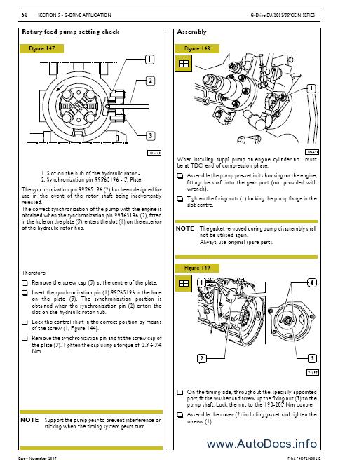 Iveco N Series Engine Workshop Service Manual Repair