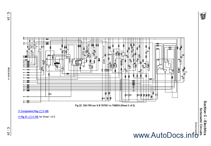 Jcb Loadall 520 Wiring Diagram