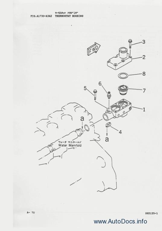 Komatsu Lw250 3 Rough Terrain Crane Parts Book Parts Catalog Order