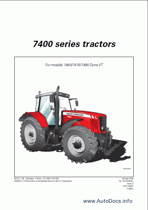 massey ferguson service manual download