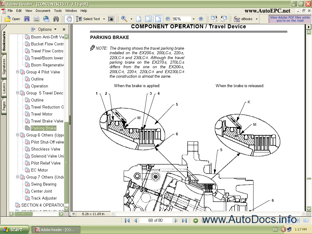 Hitachi Excavator Small Parts Catalog Repair Manual Order  U0026 Download