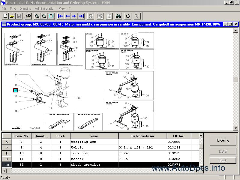 schmitz cargobull parts catalog order  u0026 download