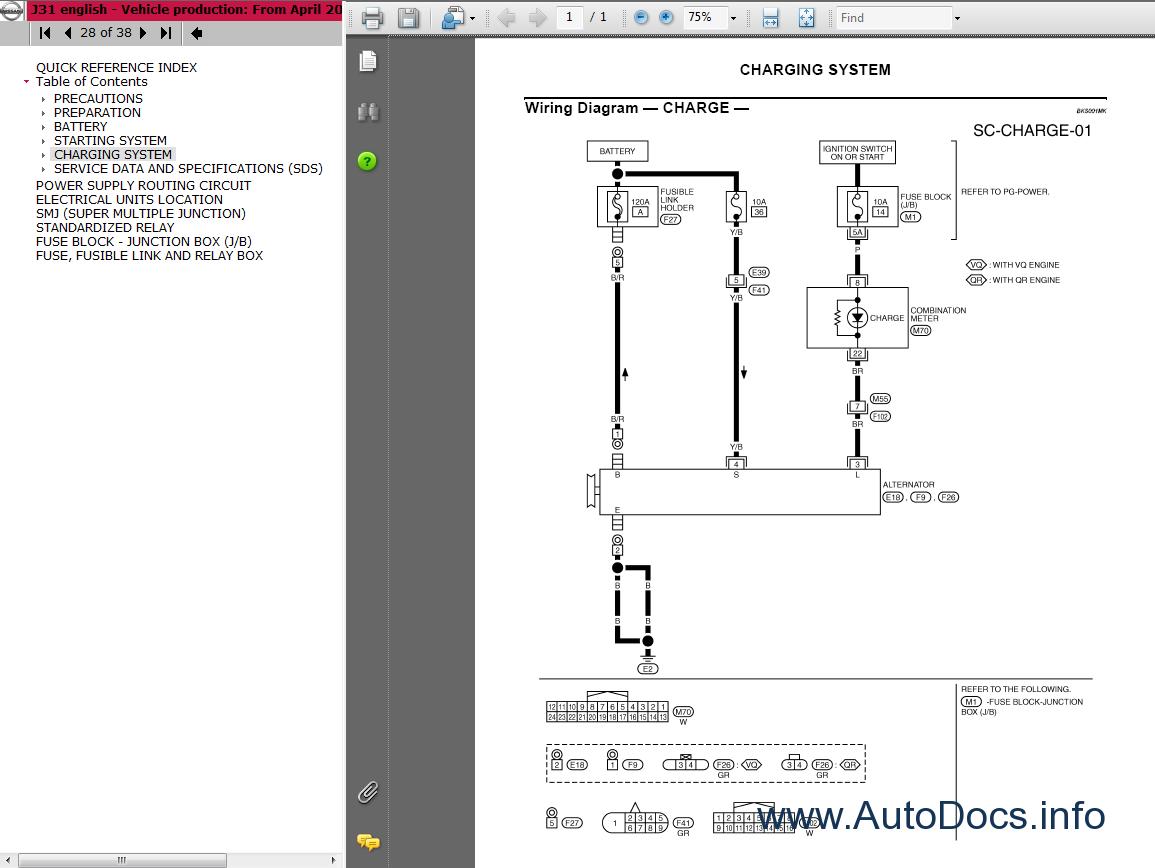 nissan teana j31 series service manual repair manual order