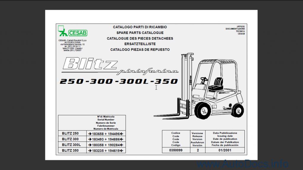 Cesab Blitz 250