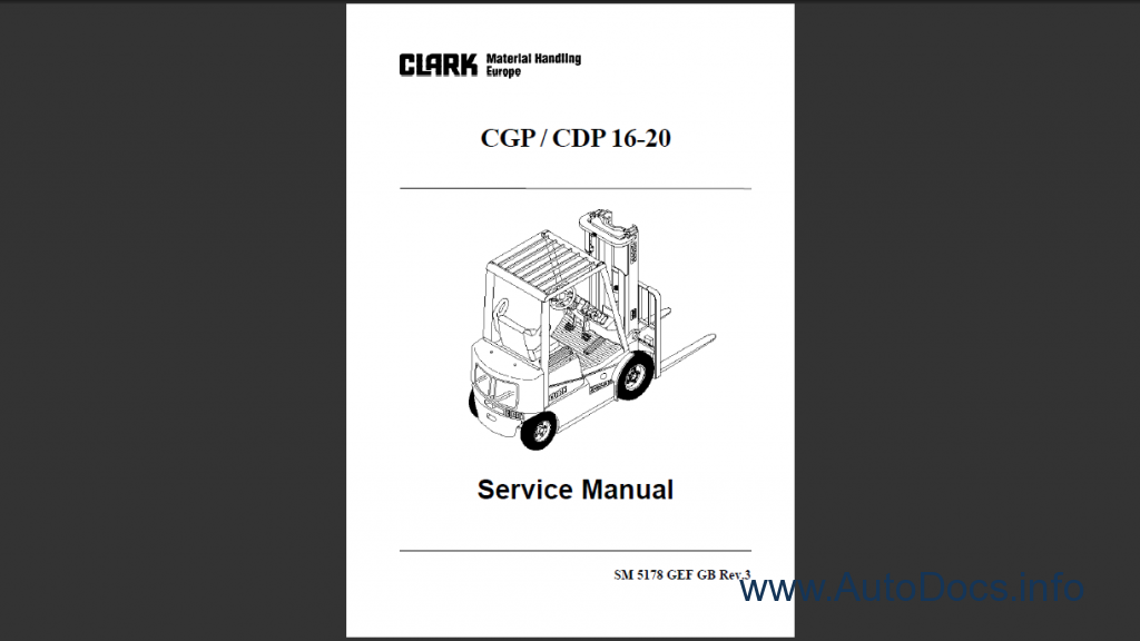 clark cgp / cdp 16-20 order & download clark gcx30e wiring diagram clark cgp25 wiring diagram #15