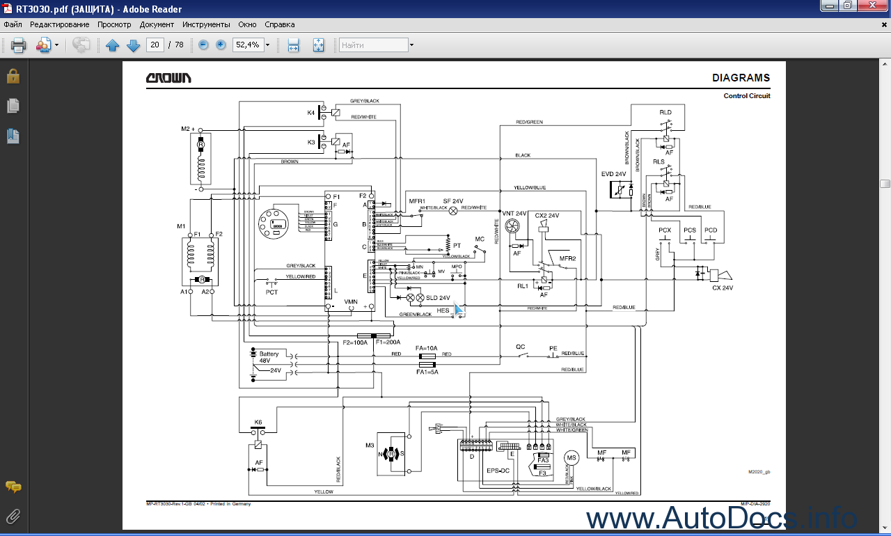 wiring diagrams book crown rt3030 series order amp download #4