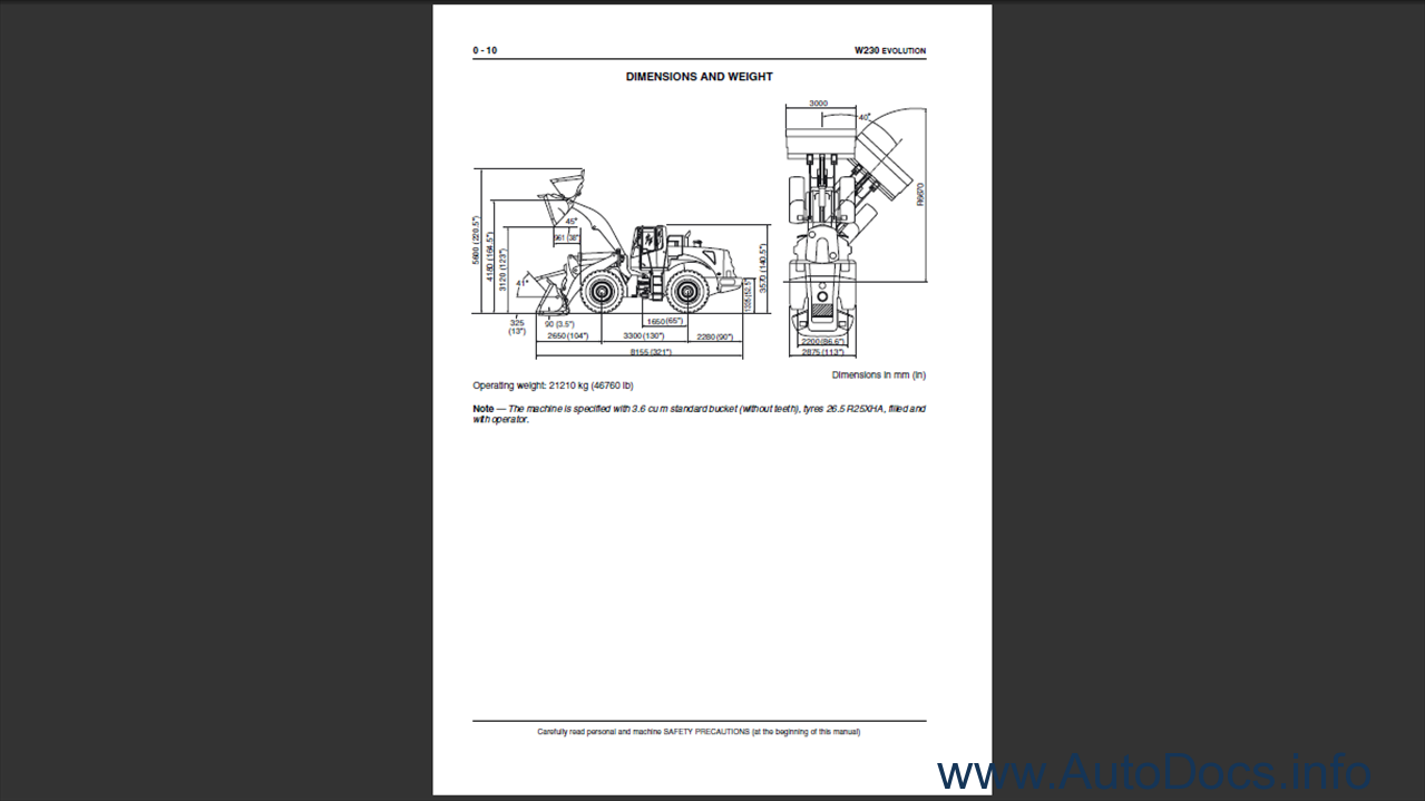 Fiat Kobelco W230 Evolution Order Download Loader Wiring Diagram 2