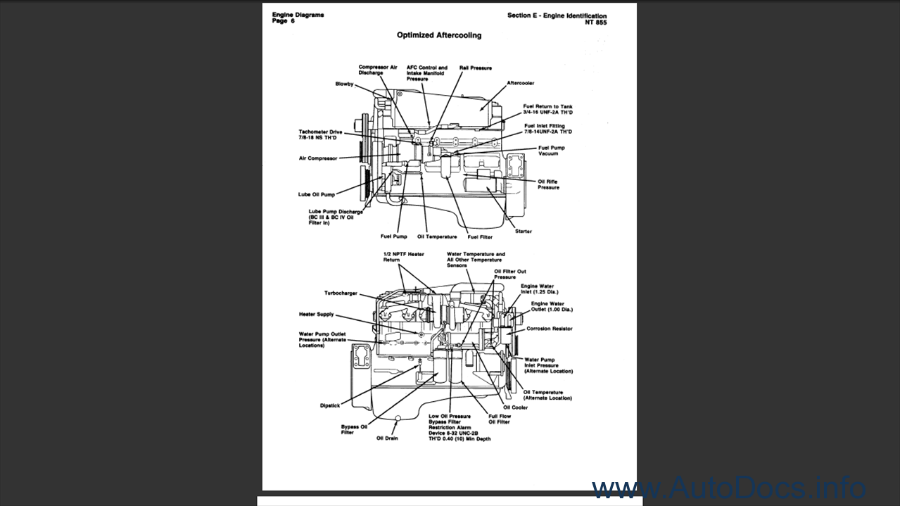 big cam cummins engine diagram pictures to pin on