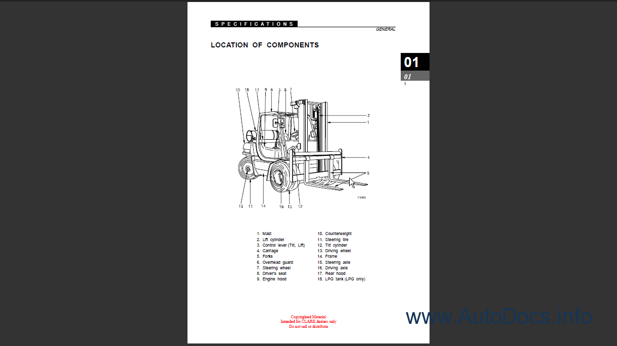clark sf50 75sd  l  cmp50 75sd  l order   download Chevy Wiring Diagrams 36 Volt Ezgo Wiring Diagram