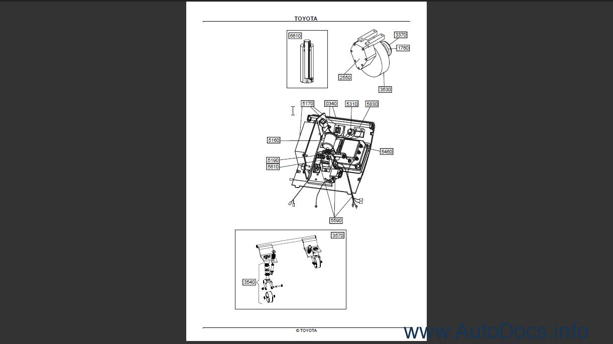 Toyota Powered Pallet Truck Pp13 Order  U0026 Download