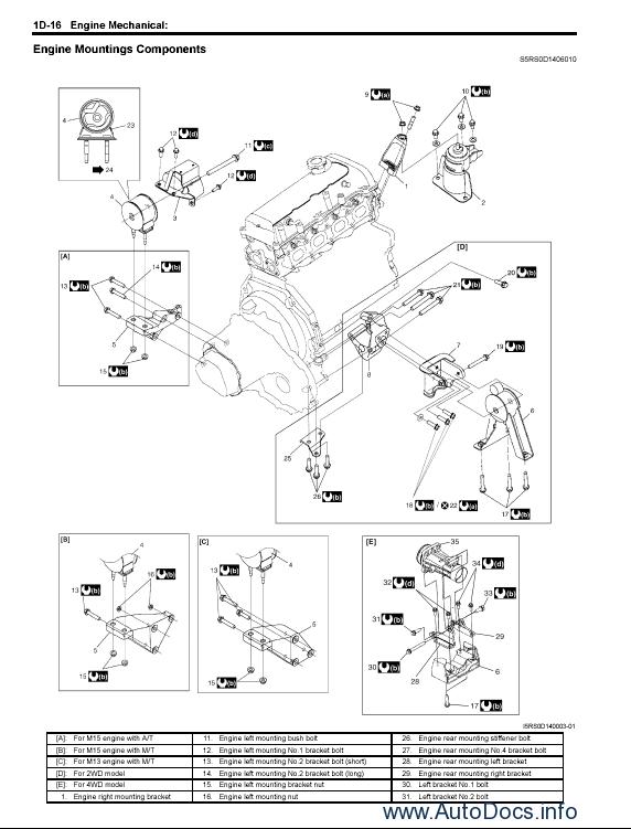 suzuki grand vitara, grand vitara xl-7 service manual repair