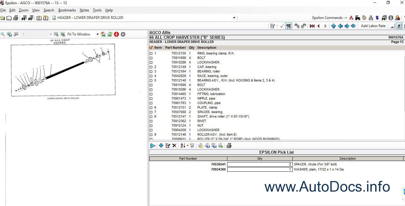 agco allis parts catalog order spare parts catalogue agco allis 2