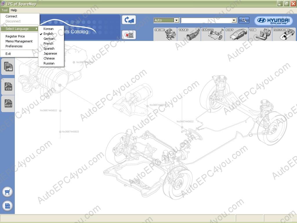 hyundai spare parts catalogue pdf
