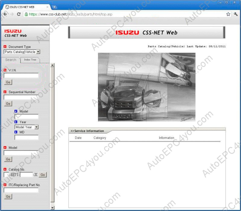 Outstanding Isuzu Css Net Online Spare Parts Catalog Parts Book Parts Manual Wiring 101 Mecadwellnesstrialsorg