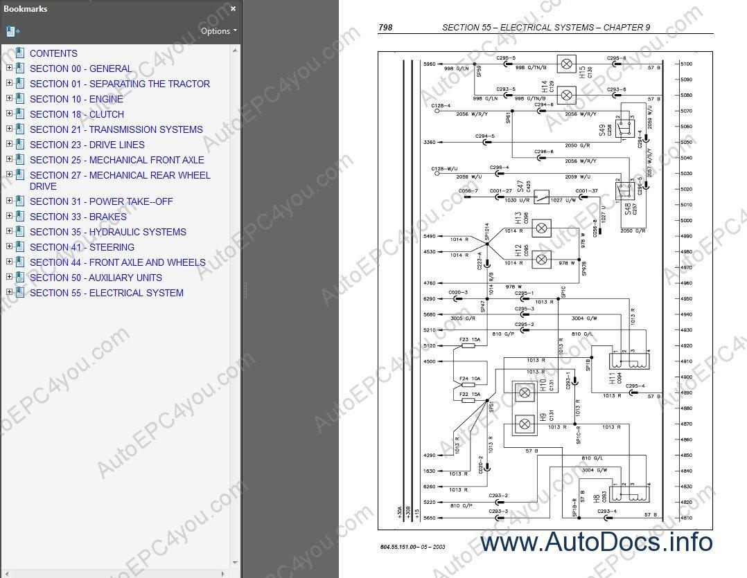 New Holland T6010 Tractor Repair Manual Repair Manual