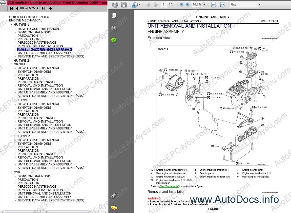 nissan qashqai and qashqai 2 repair manual repair manual order  u0026 download