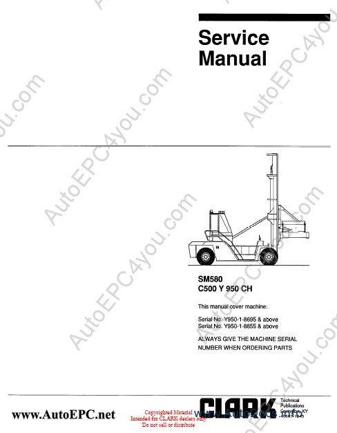 clark forklift parts pro 2012 electronic parts catalog