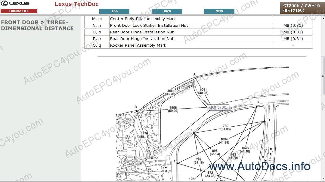 Lexus Ct200h Service Manual En Repair Manual Order  U0026 Download
