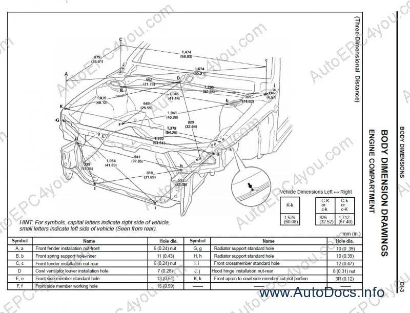 Lexus Body Dimensions Repair Manual Order Amp Download border=