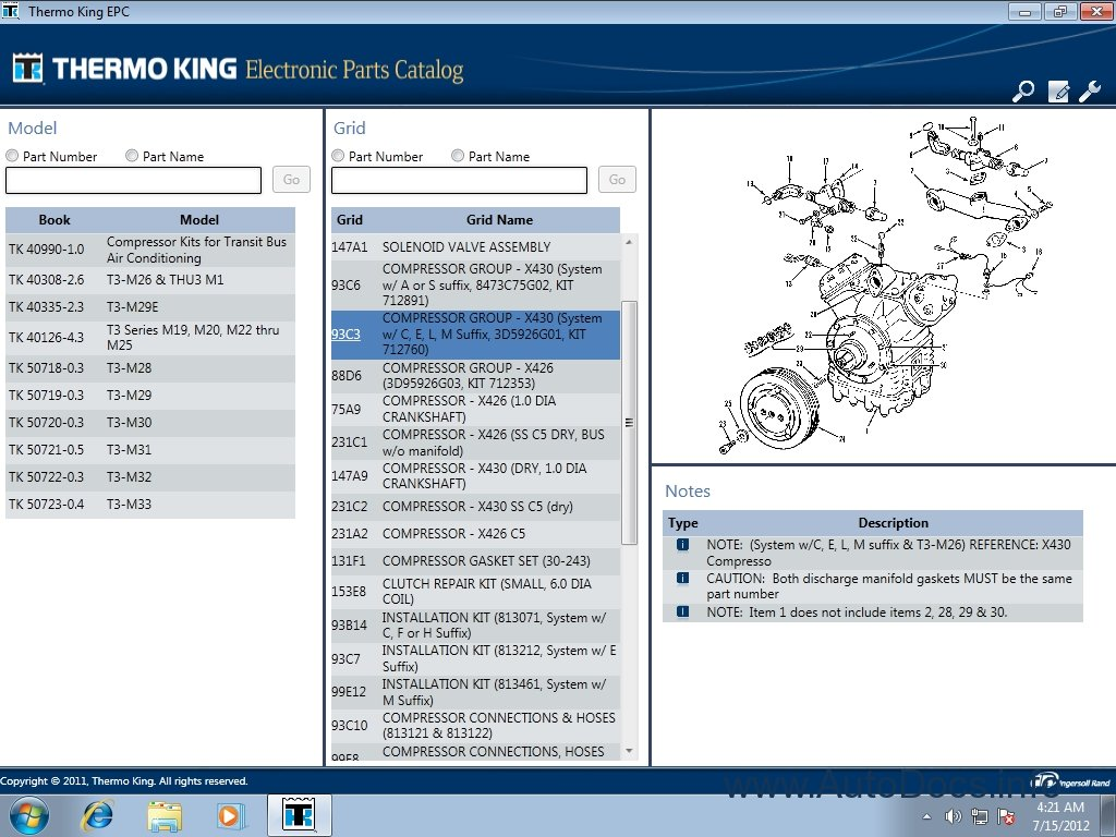 Thermo King Control Panel Wiring Diagram