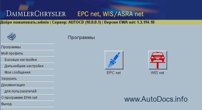 Mercedes EWA EPC Net 2014