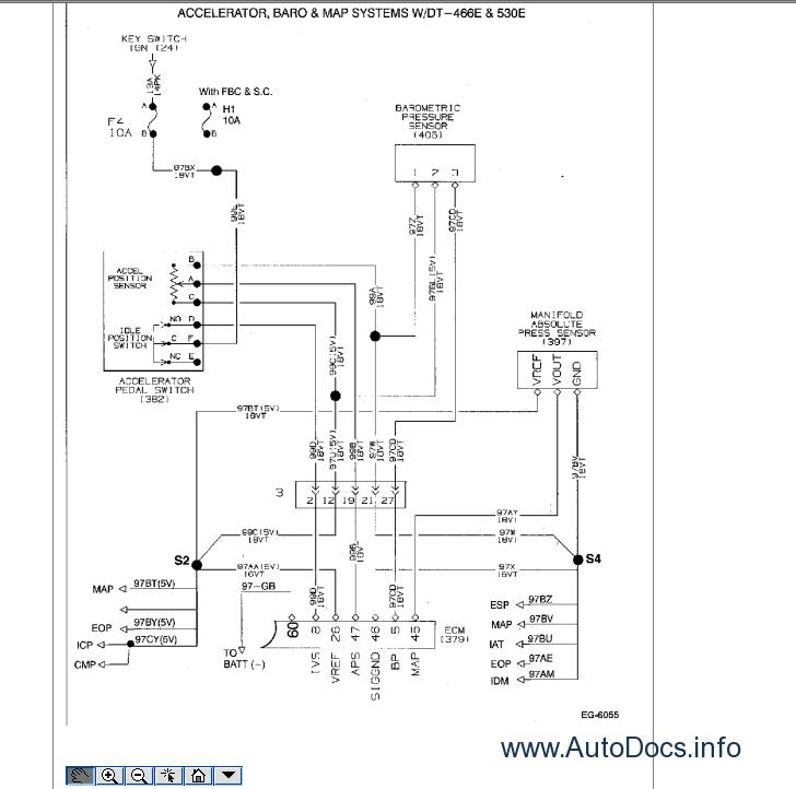 international truck oncommand service information