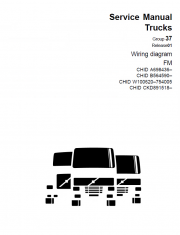 Repair manuals Volvo Truck FM EURO5 Manual of Wiring Diagrams