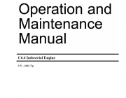 Repair manuals Caterpillar C6.6 Industrial Engines Operation and Maintenance & Service Manuals PDF