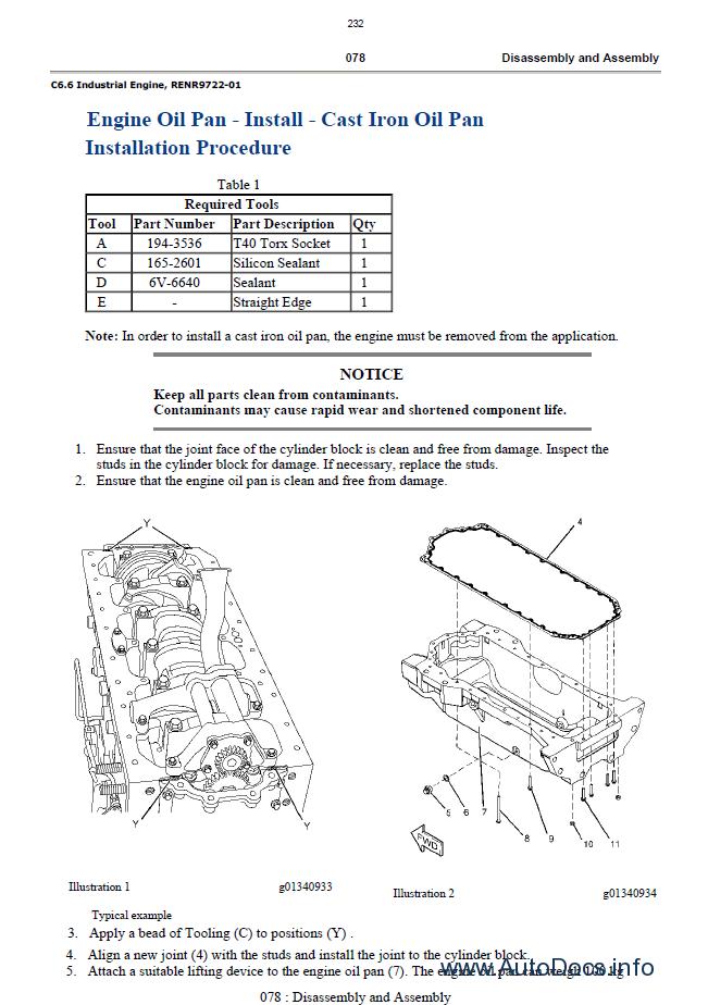 Caterpillar C6 6 Industrial Engines Service Manuals Pdf
