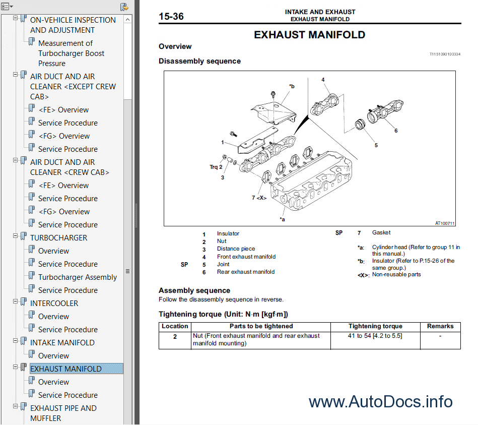Mitsubishi Canter 4m51 Service Manual